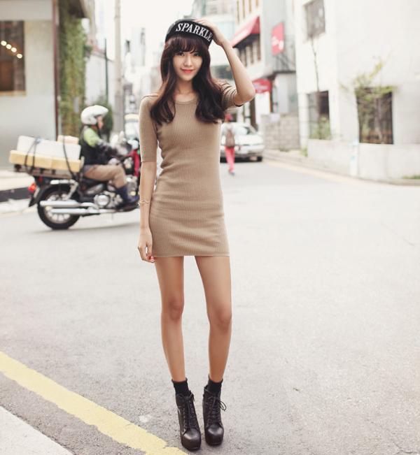 Gợi ý cách giúp bạn mặc váy cực đẹp trong mùa thu